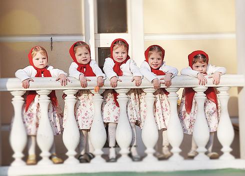 Жизнь с 5 близнецами, или Счастье — величина не математическая