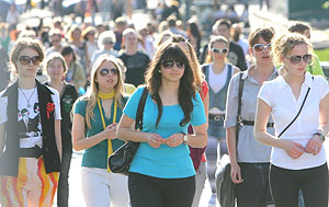 В Беларуси численность молодежи составляет 2 млн. 239 тыс. человек