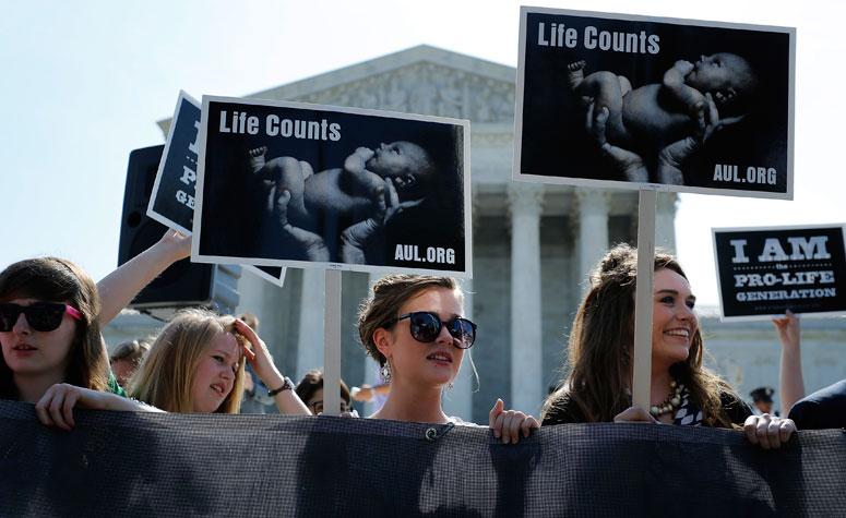 Про-лайф демонстрация в Вашингтоне 30 Июня, 2014 Фото: Reuters/Jonathan Ernst