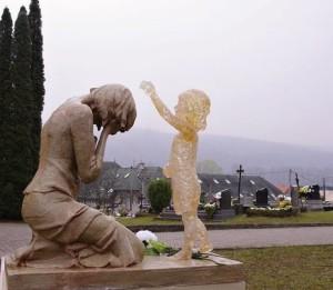 Памятник нерожденным детям в Словакии