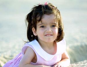 Джоди, выжившая после операции разделения близнецов