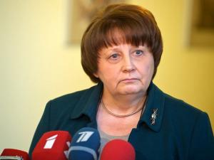 Премьер-министр Латвии Лаймдота Страуюма. Иллюстрация: vesti.lv