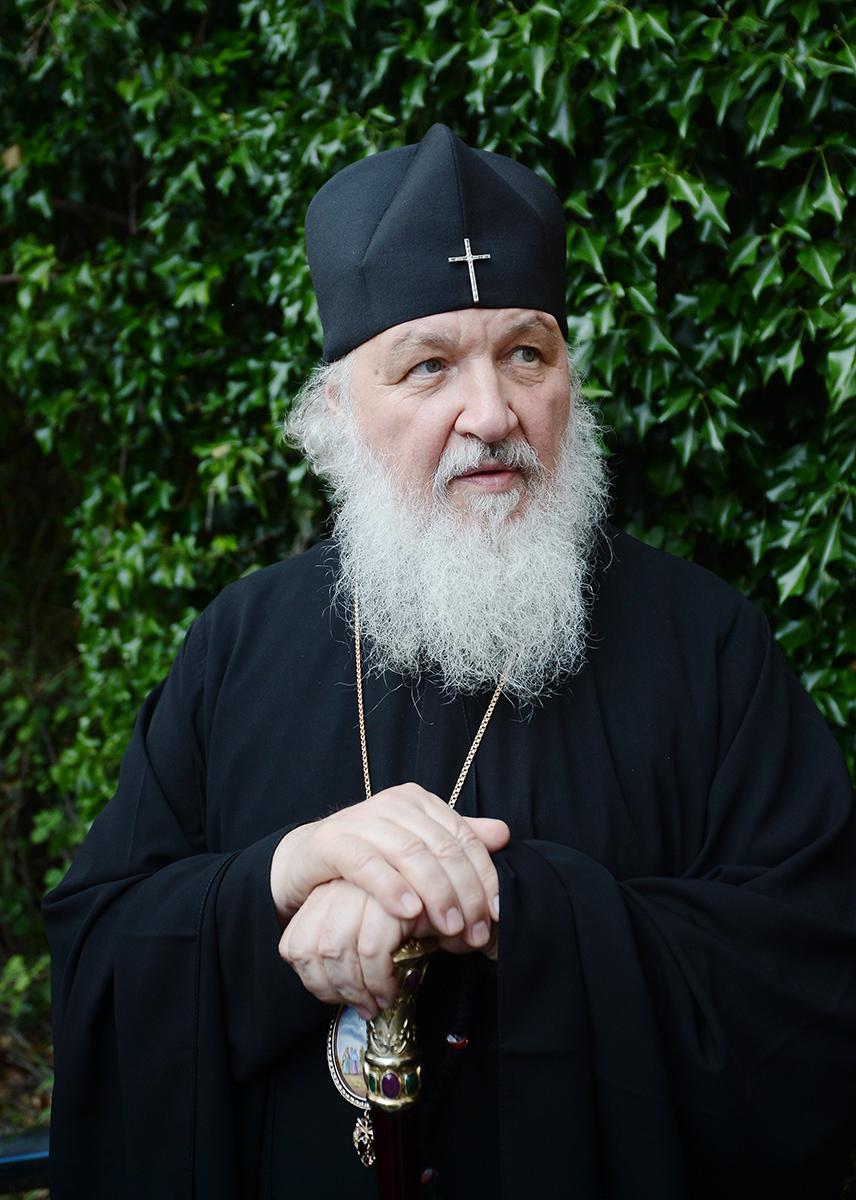 Патриарх Кирилл: В современном мире, отказывающемся от Бога, исчезает понятие греха