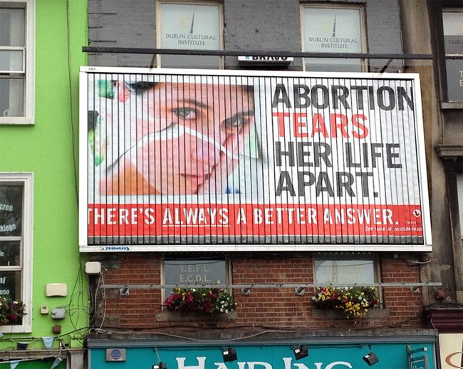 Просветительские кампании против абортов