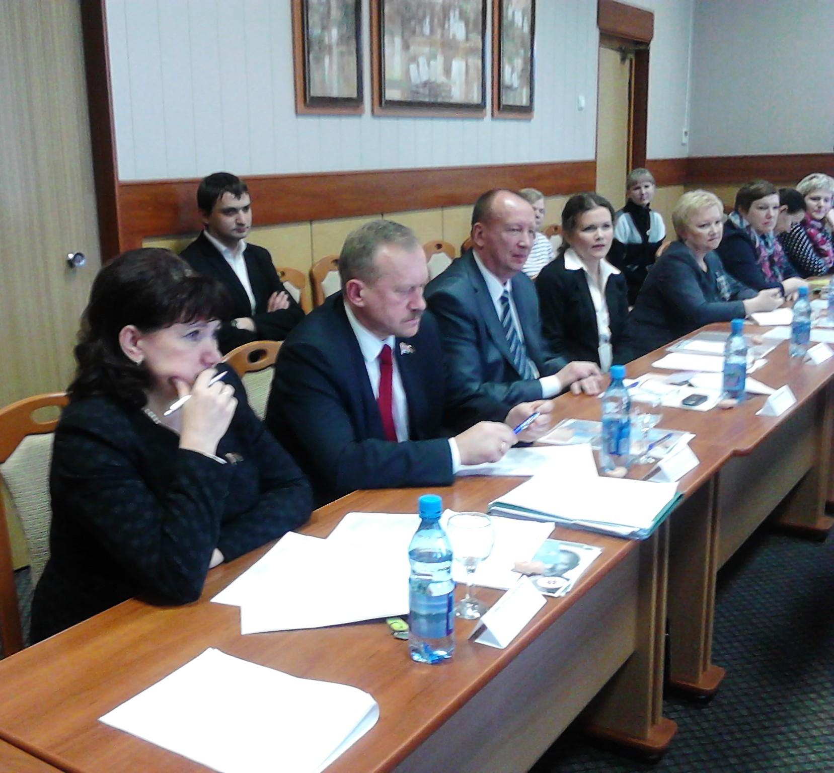 В Полоцке прошли общественные слушания, посвященные рассмотрению внесения изменений в Закон «О здравоохранении»