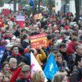 40 тысяч пролайферов вышли на Марш за жизнь в Париже (видео)