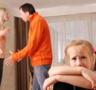 Исследования: Семейные ссоры негативно влияют на развитие мозга ребенка