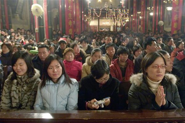 К 2025 году в Китае будет больше христиан, чем в Америке