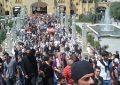 В Тбилиси демонстрация против гей-пропаганды закончилась столкновением с полицией