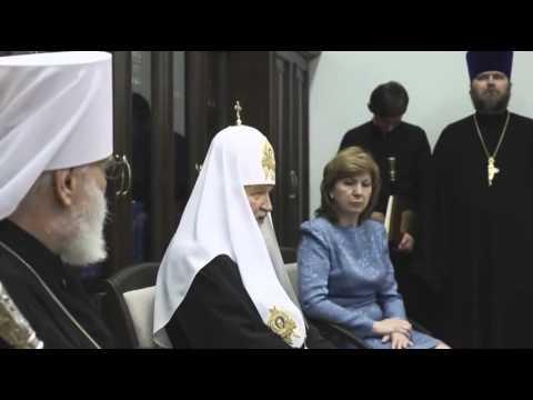 Представление проекта «Право на жизнь» Патриарху в Минске