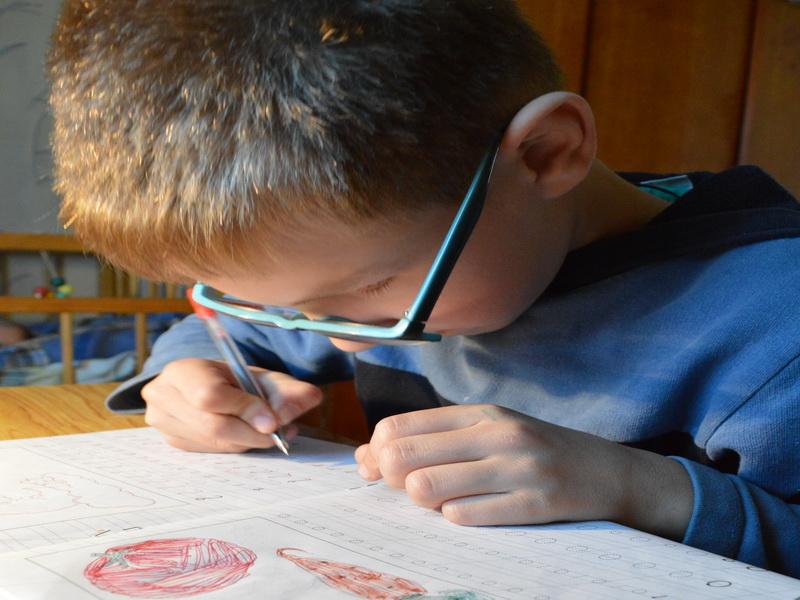 Как научить ребёнка грамотному письму