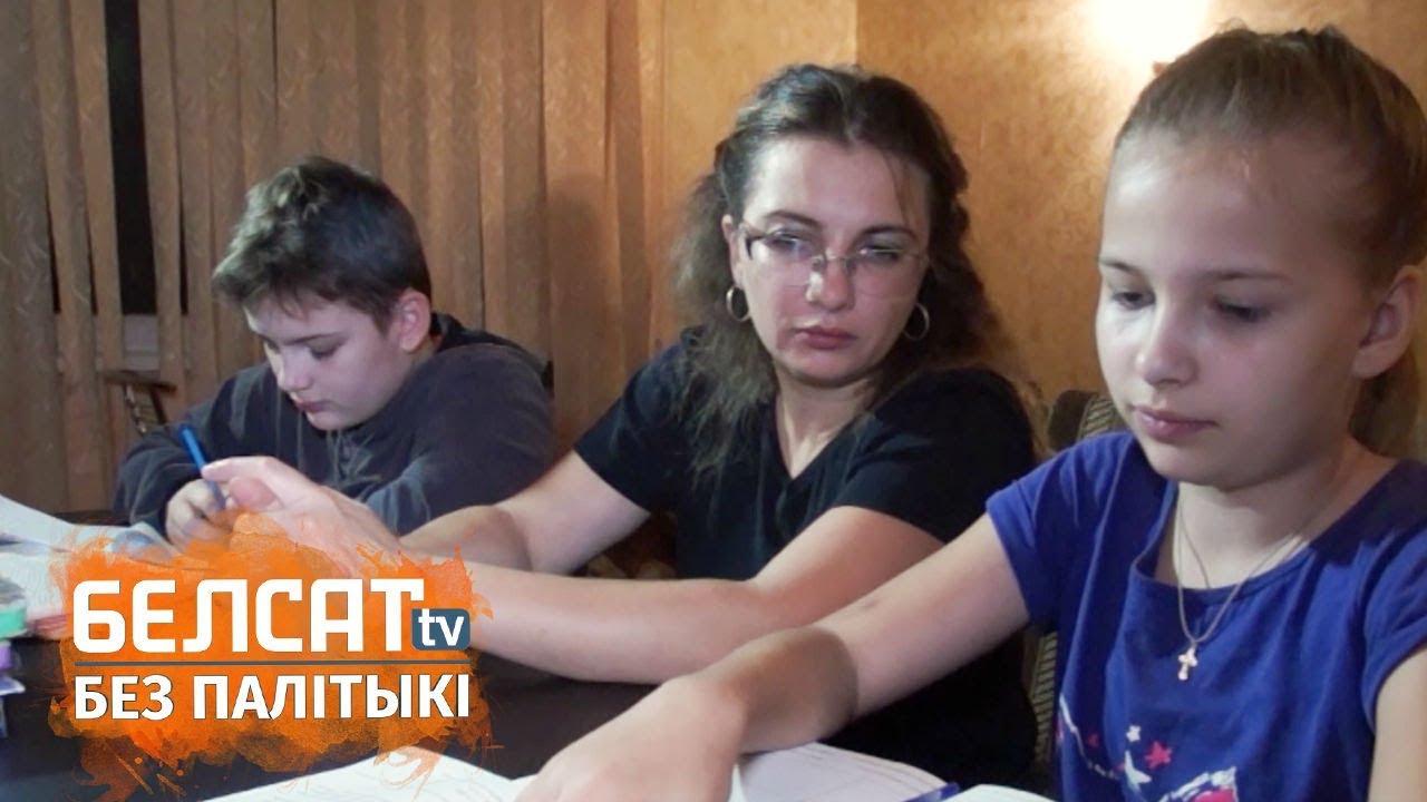 Маці трох дзяцей з Віцебску пасля разводу сышла ў дальнабойніцы