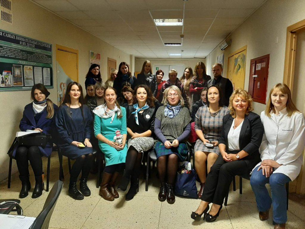 В ЦДП «Ювентус» прошла встреча «Вместе в защиту жизни»