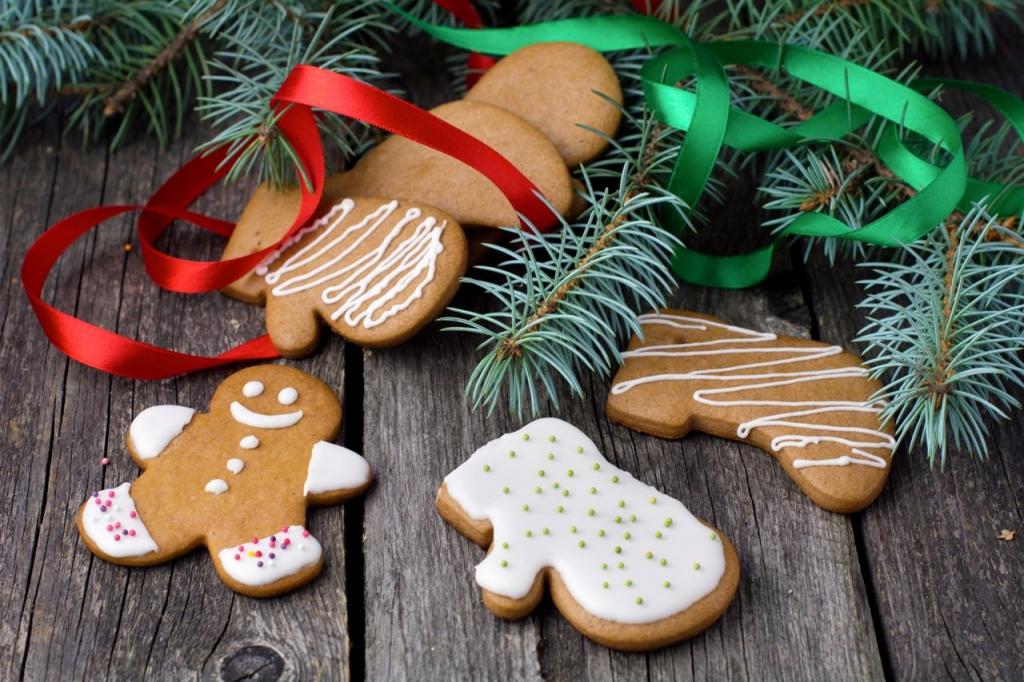 Готовим с детьми в святки: имбирное печенье и расписные пряники