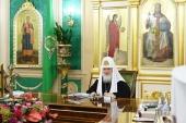 Заявление Священного Синода РПЦ в связи с распространением коронавирусной инфекции