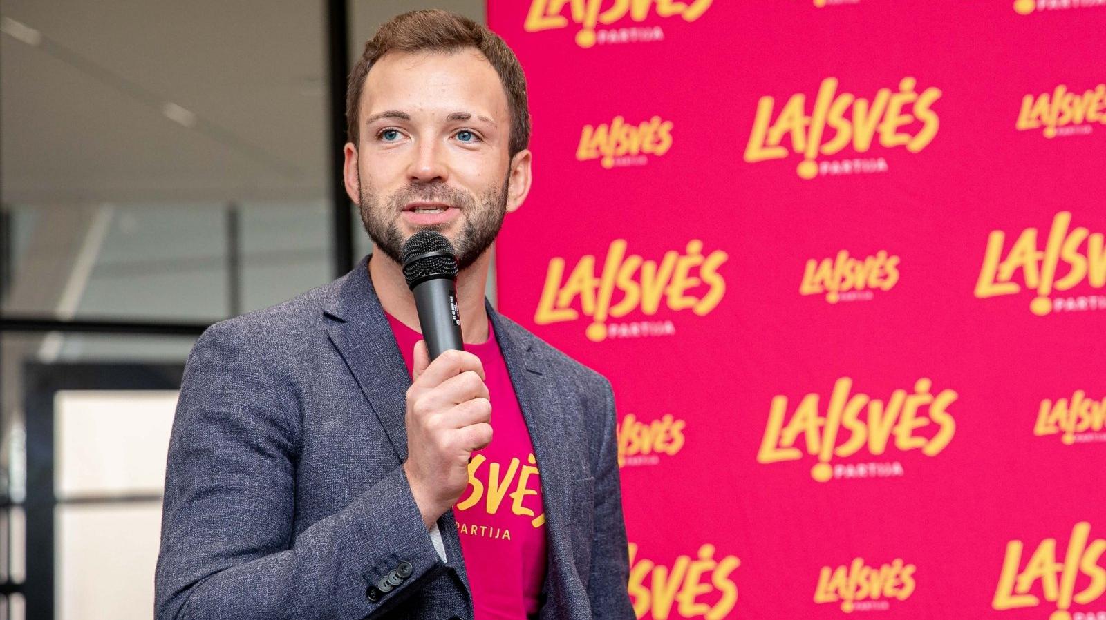 Кандидатом в парламент Литвы выдвинулся ЛГБТ-активист