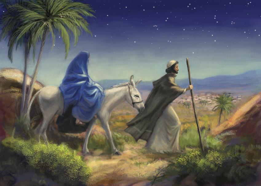 """Музыка из """"В мире животных""""  на самом деле  гимн о путешествии Марии и Иосифа в Вифлеем"""